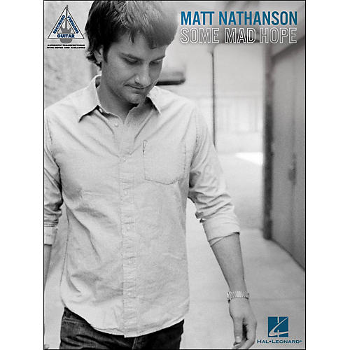 Hal Leonard Matt Nathanson - Some Mad Hope Tab Book thumbnail
