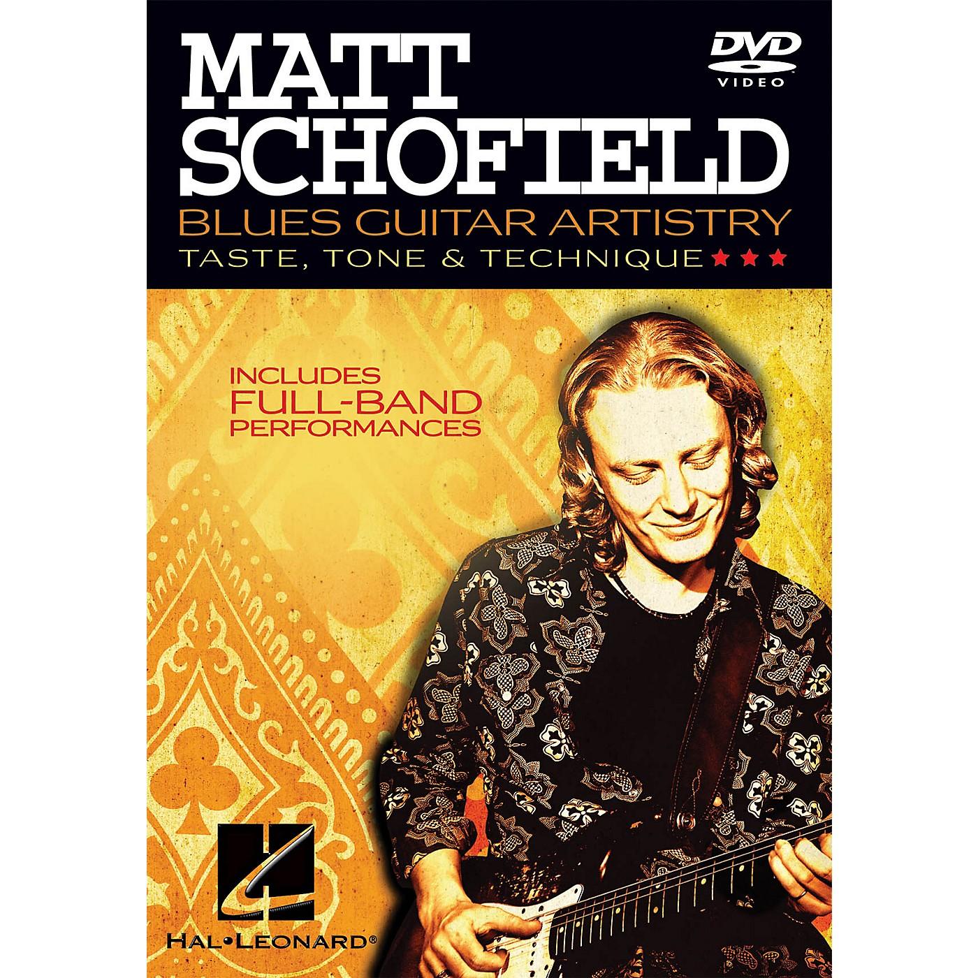 Hal Leonard Matt Schofield - Blues Guitar Artistry Instructional/Guitar/DVD Series DVD Performed by Matt Schofield thumbnail