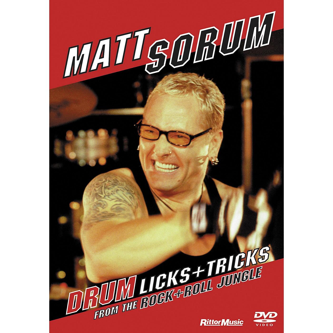 Rittor Music Matt Sorum - Drum Licks + Tricks From The Rock + Roll Jungle (DVD) thumbnail