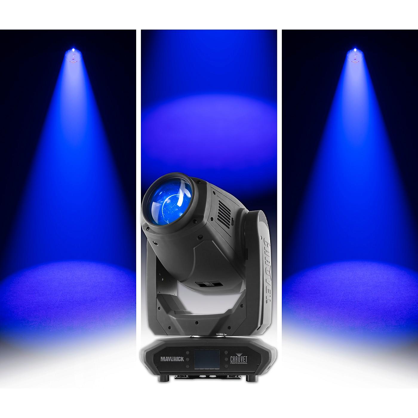 CHAUVET Professional Maverick MK1 Spot 350W LED Professional Moving Head Beam Light thumbnail