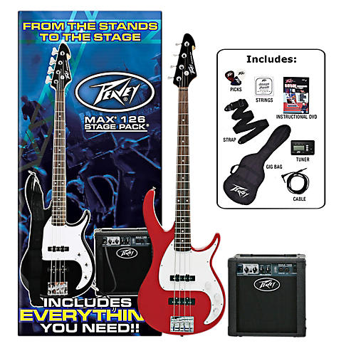 Peavey Max Electric Bass Value Pack thumbnail