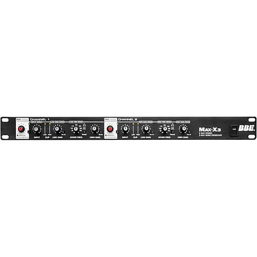 BBE Max-X3 2-Way Stereo/3-Way Mono Crossover thumbnail