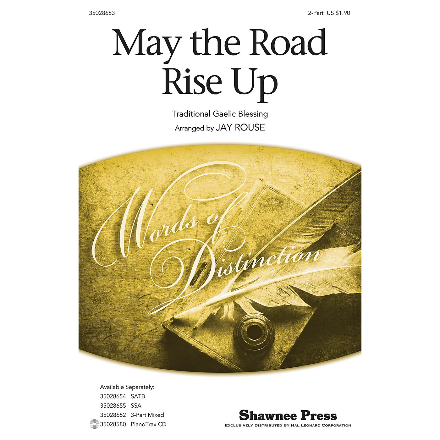 Shawnee Press May the Road Rise Up 2-Part arranged by Jay Rouse thumbnail