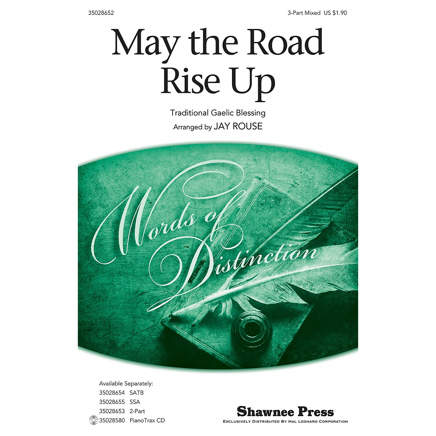 Shawnee Press May the Road Rise Up (Together We Sing Series) 3-Part Mixed arranged by Jay Rouse thumbnail