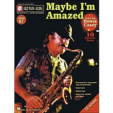 Hal Leonard Maybe I'M Amazed - Jazz Play-Along Volume 97 (CD/Pkg) Featuring Howie Casey