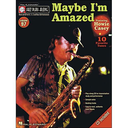 Hal Leonard Maybe I'M Amazed - Jazz Play-Along Volume 97 (CD/Pkg) Featuring Howie Casey thumbnail