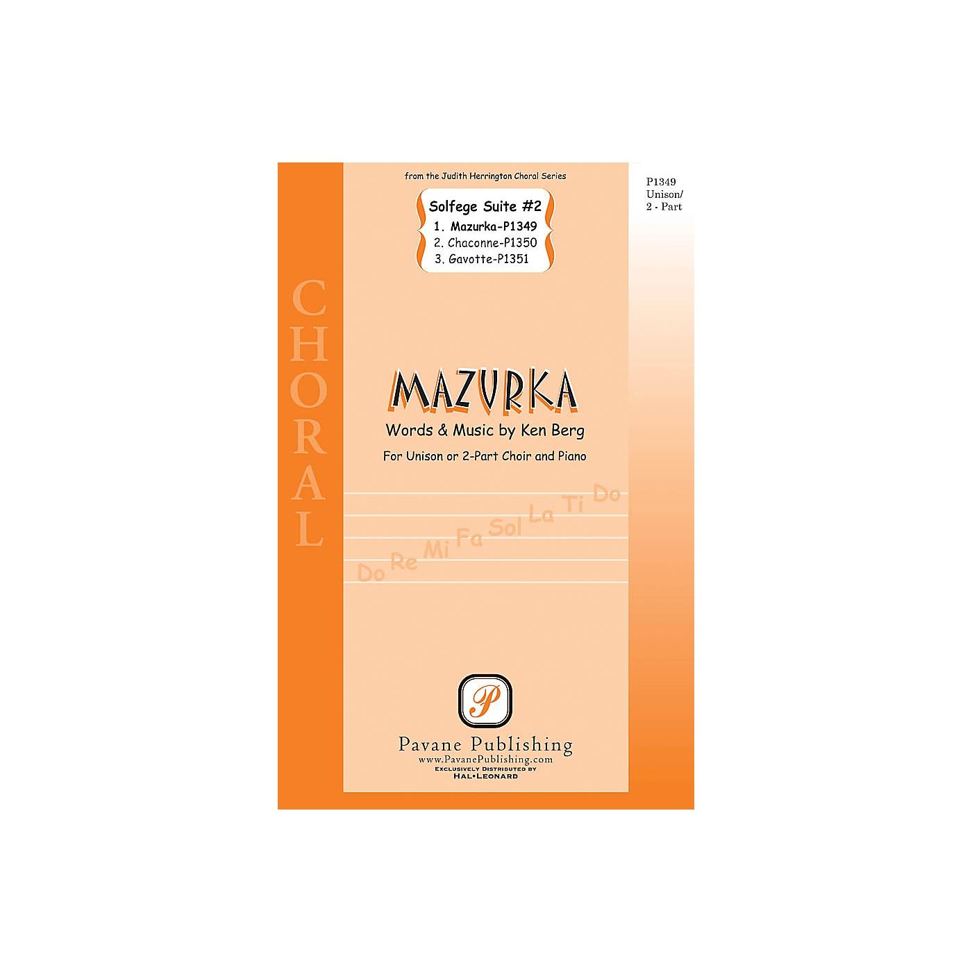 Pavane Mazurka (from Solfege Suite #2) UNIS/2PT composed by Ken Berg thumbnail