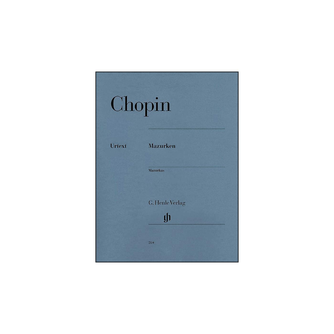 G. Henle Verlag Mazurkas By Chopin thumbnail