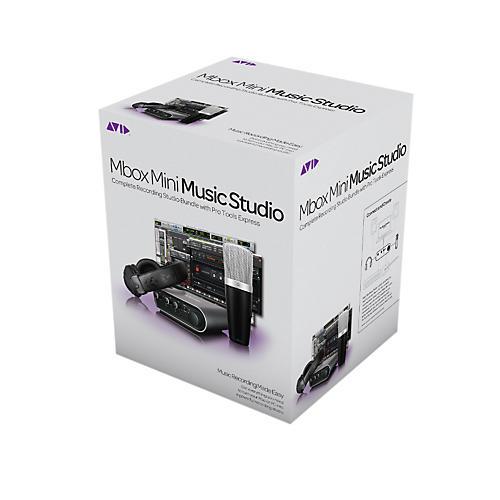 Avid Mbox Mini Music Studio-thumbnail