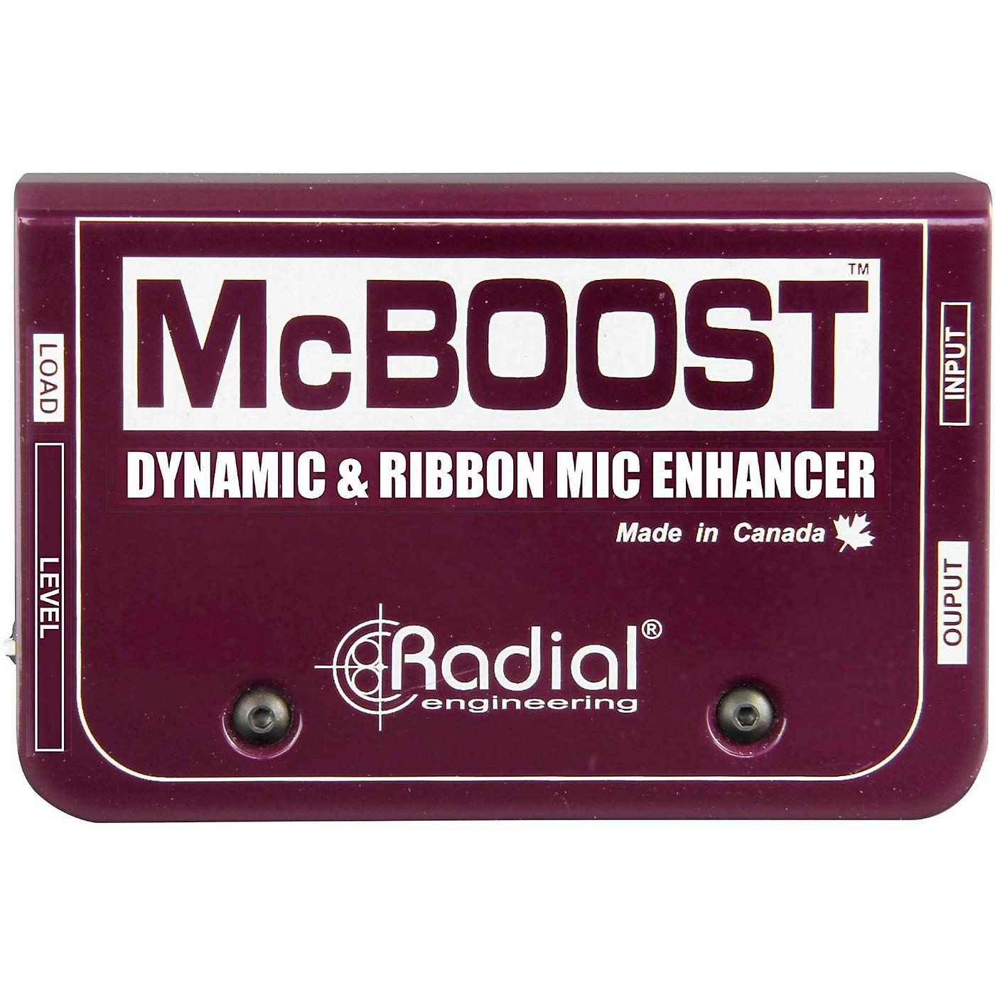 Radial Engineering McBoost Microphone Signal Intensifier thumbnail