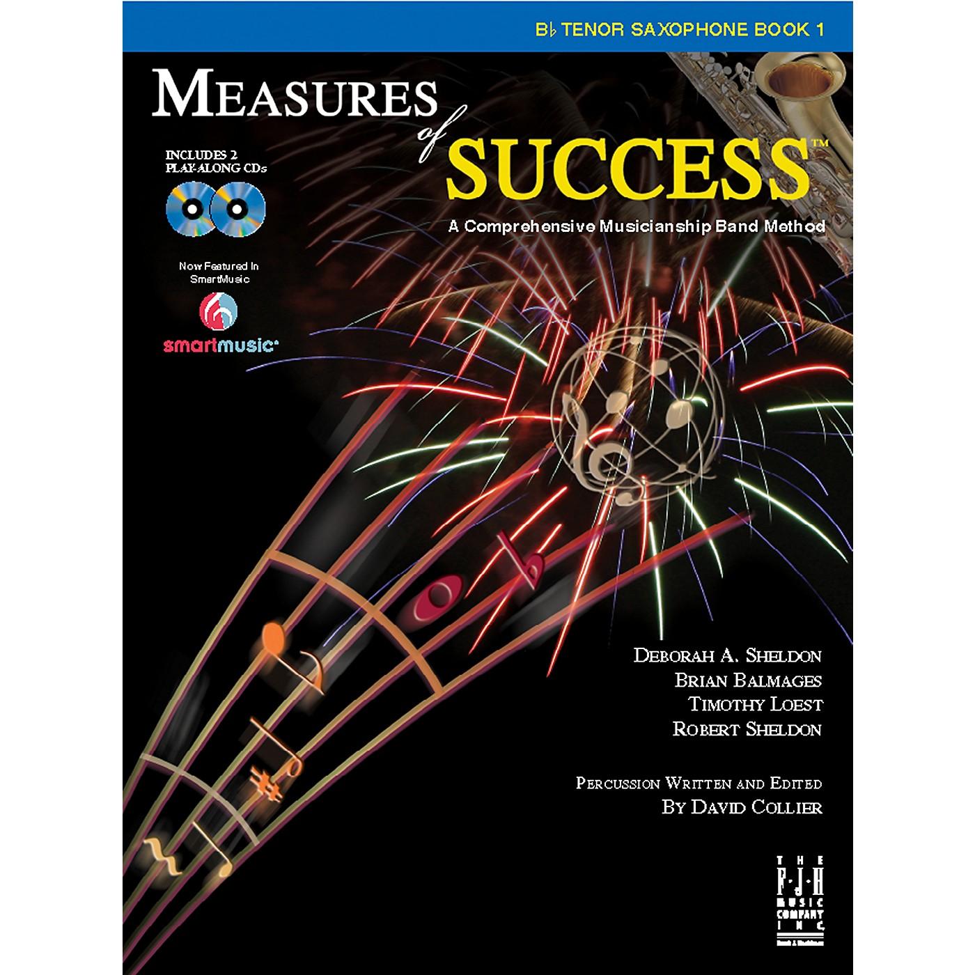 FJH Music Measures of Success B-flat Tenor Saxophone Book 1 thumbnail