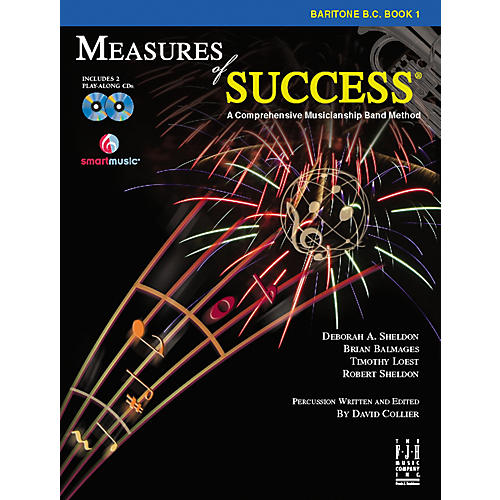 FJH Music Measures of Success Baritone B.C. Book 1 thumbnail