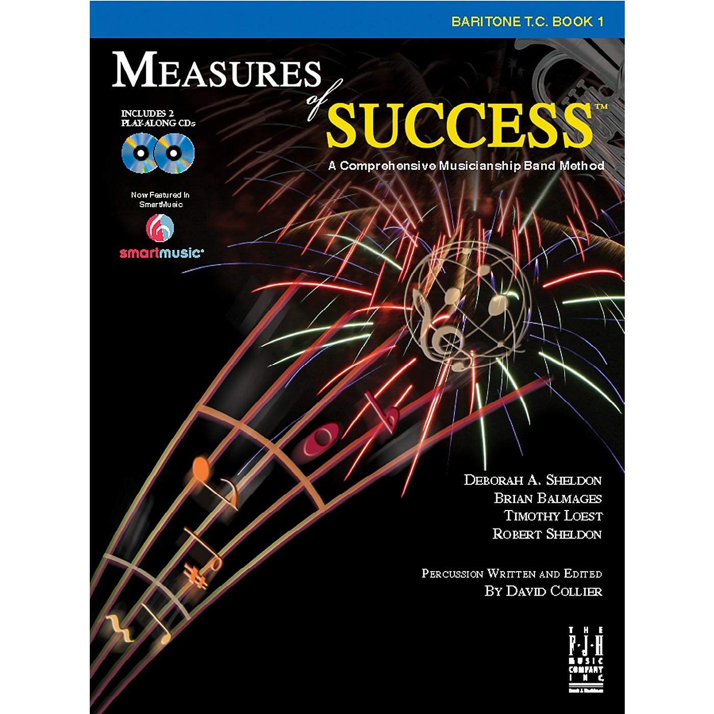 FJH Music Measures of Success Baritone T.C. Book 1 thumbnail