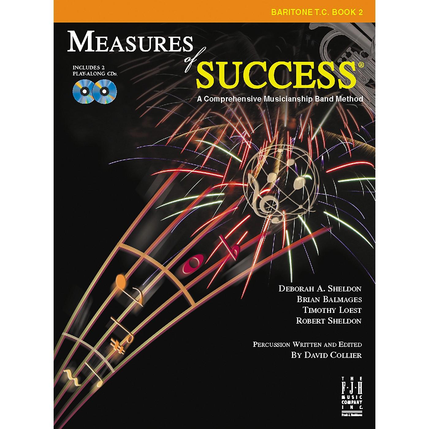 FJH Music Measures of Success Baritone T.C. Book 2 thumbnail