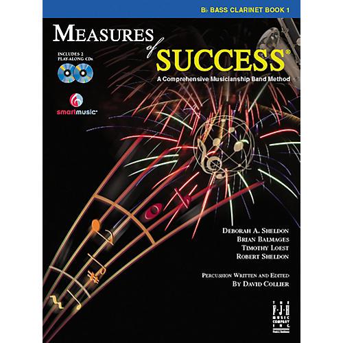 FJH Music Measures of Success Bass Clarinet Book 1 thumbnail