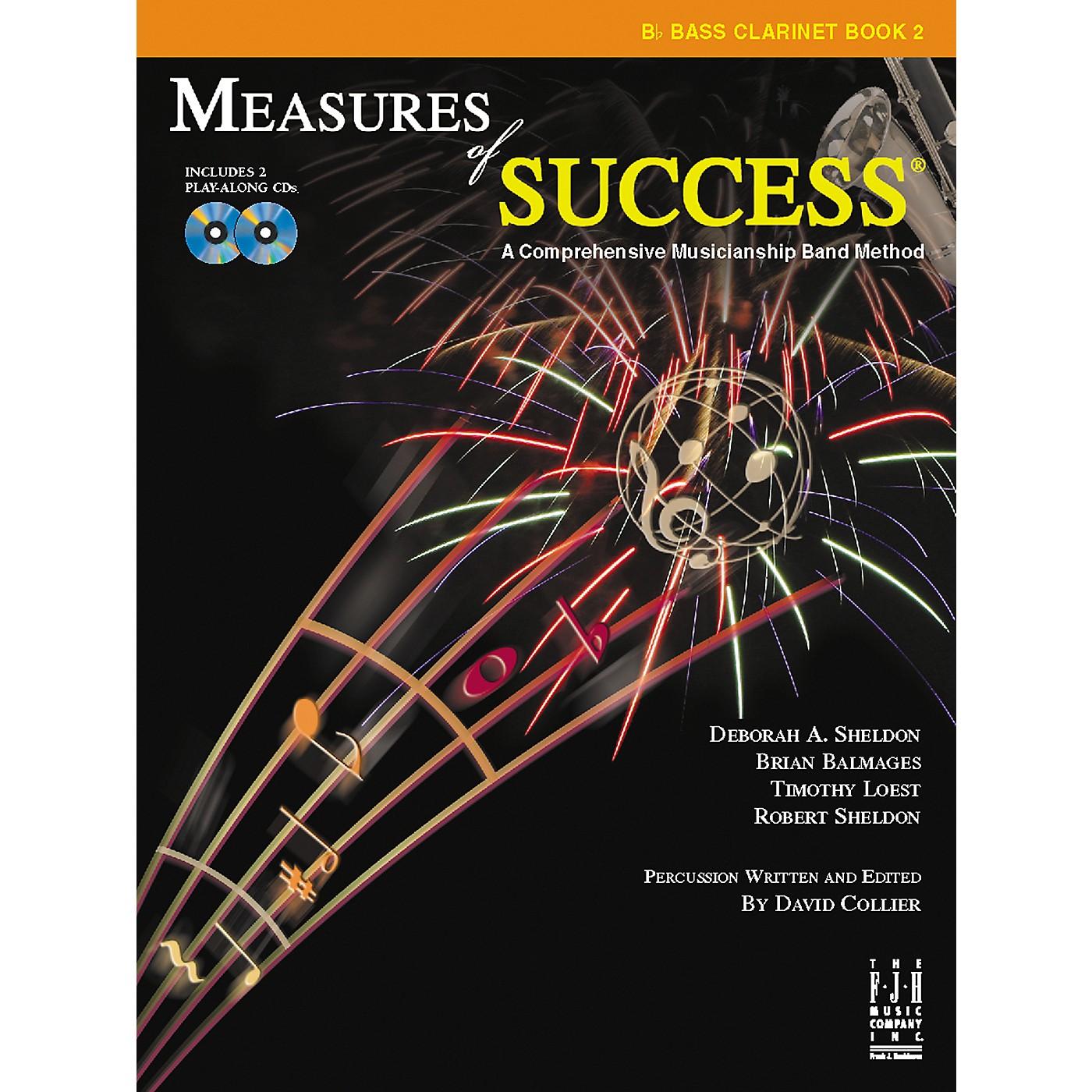 FJH Music Measures of Success Bass Clarinet Book 2 thumbnail