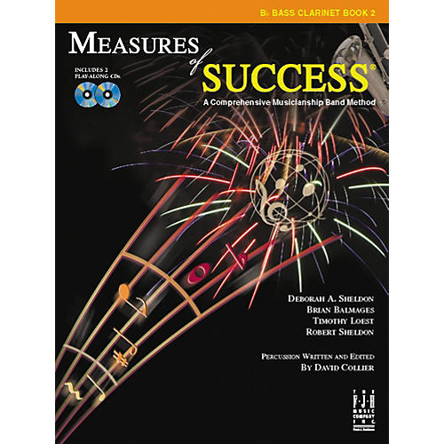 FJH Music Measures of Success Bass Clarinet Book 2 thumbnail