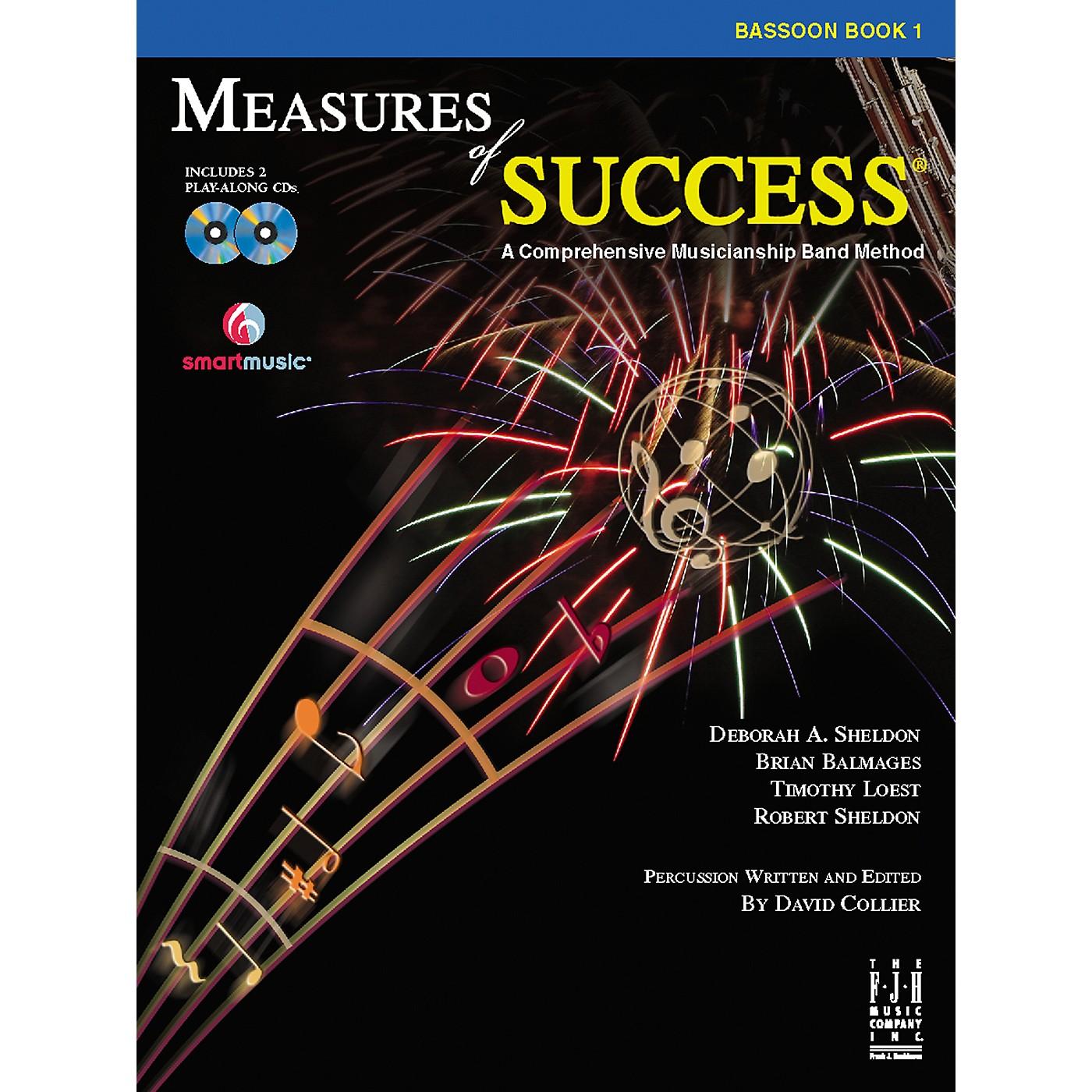 FJH Music Measures of Success Bassoon Book 1 thumbnail