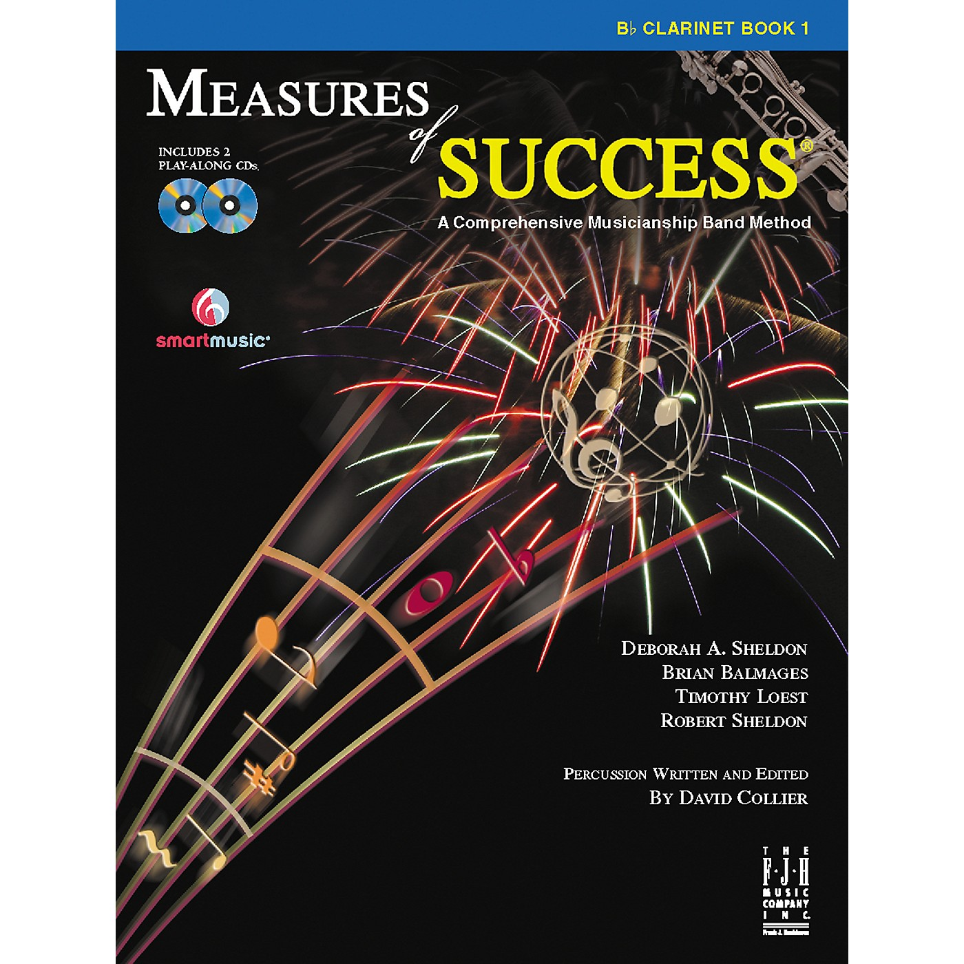 FJH Music Measures of Success Clarinet Book 1 thumbnail