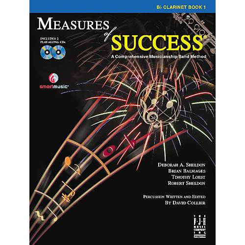 FJH Music Measures of Success Clarinet Book 1 thumbnail