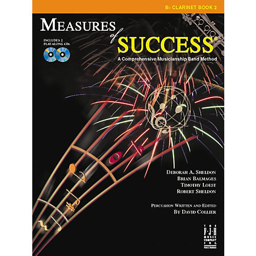FJH Music Measures of Success Clarinet Book 2 thumbnail
