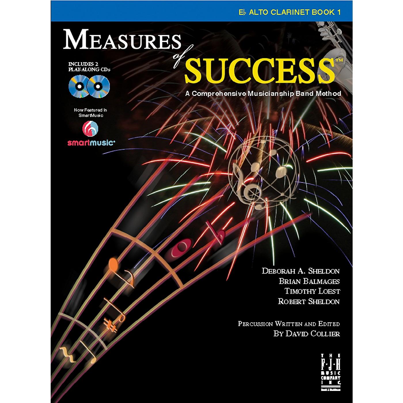 FJH Music Measures of Success E-flat Alto Clarinet Book 1 thumbnail