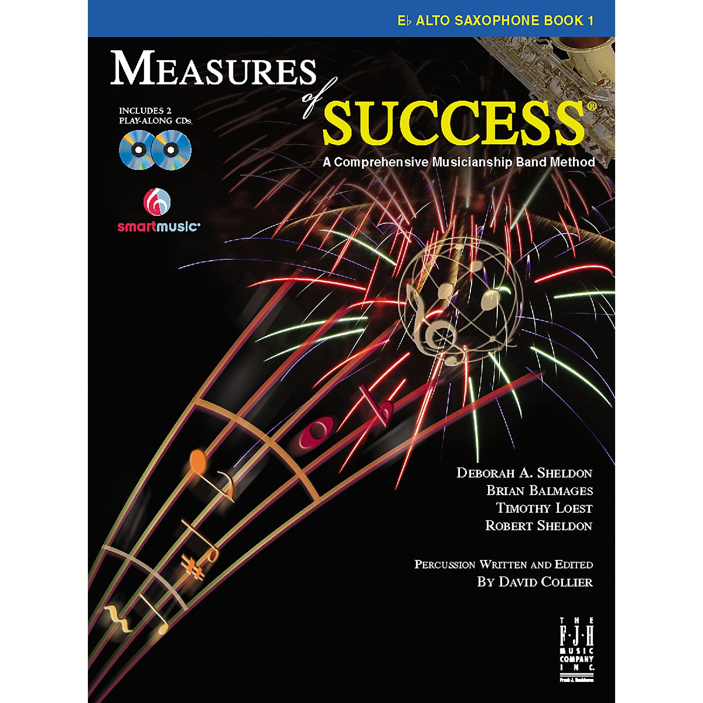 FJH Music Measures of Success E-flat Alto Saxophone Book 1 thumbnail
