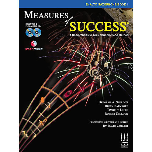 FJH Music Measures of Success E-flat Alto Saxophone Book 1-thumbnail