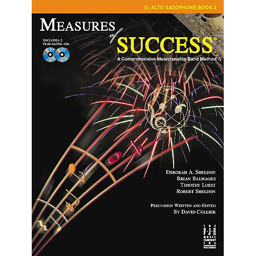 FJH Music Measures of Success E-flat Alto Saxophone Book 2 thumbnail