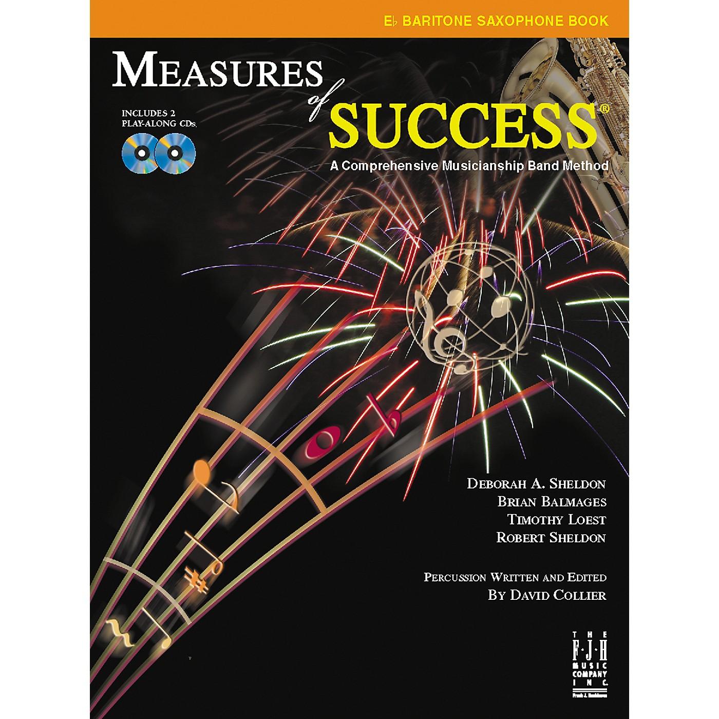 FJH Music Measures of Success E-flat Baritone Saxophone Book 2 thumbnail