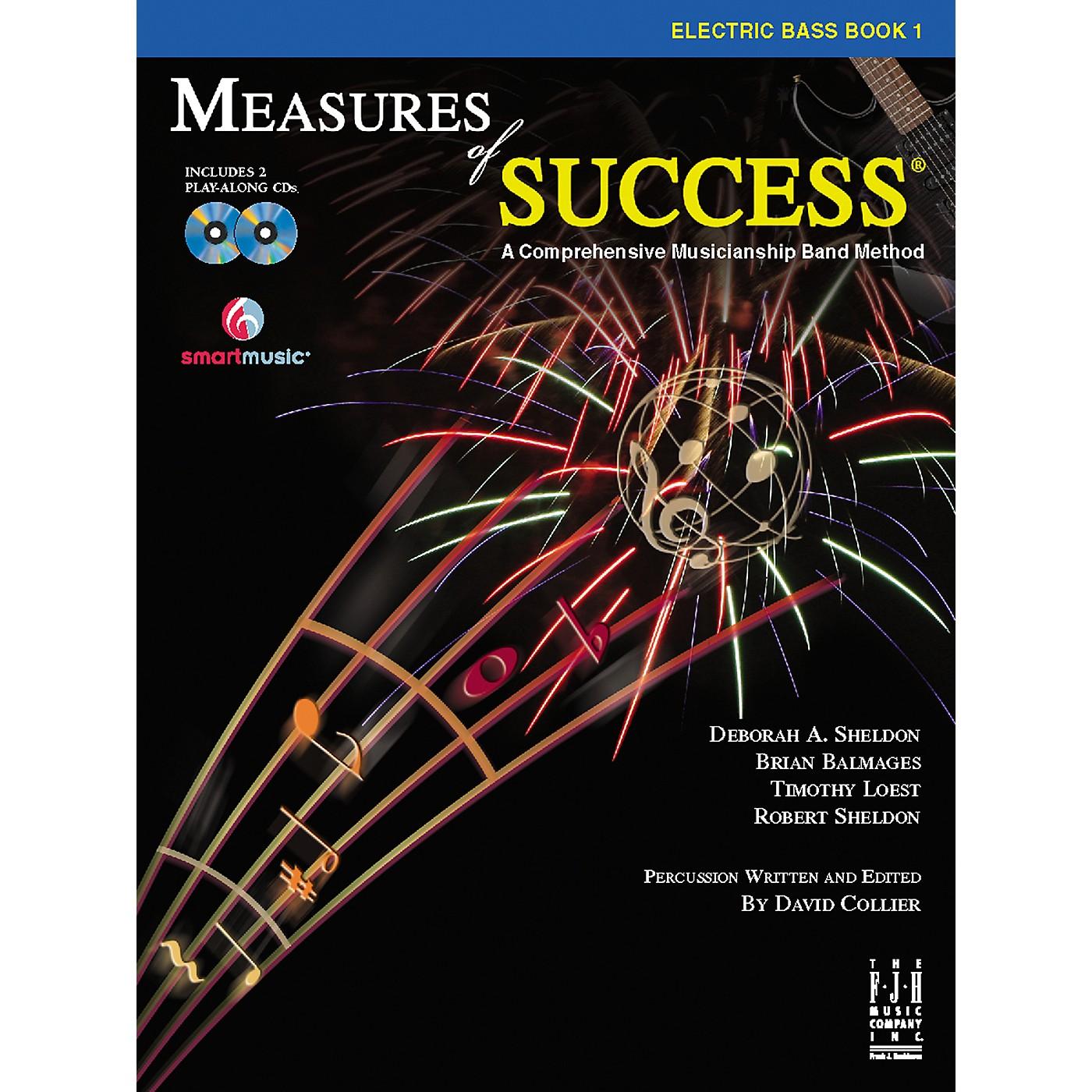 FJH Music Measures of Success Electric Bass Book 1 thumbnail