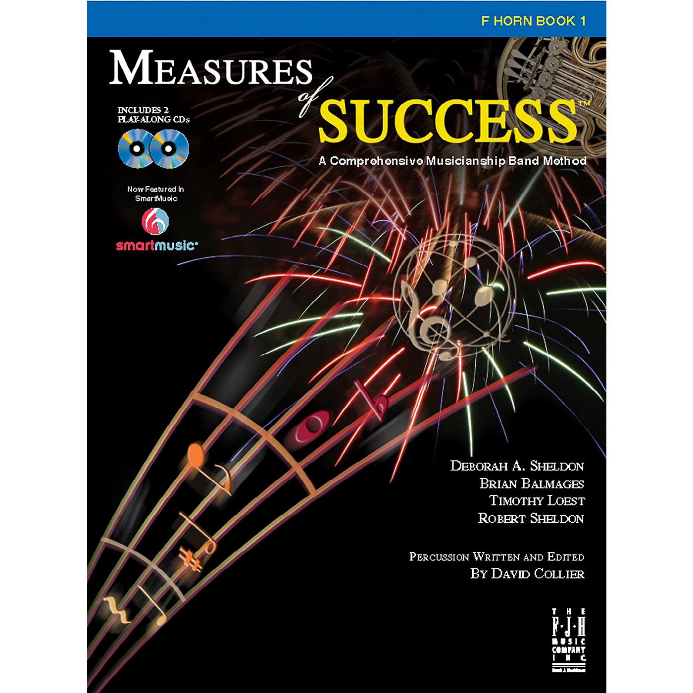 FJH Music Measures of Success F Horn Book 1 thumbnail