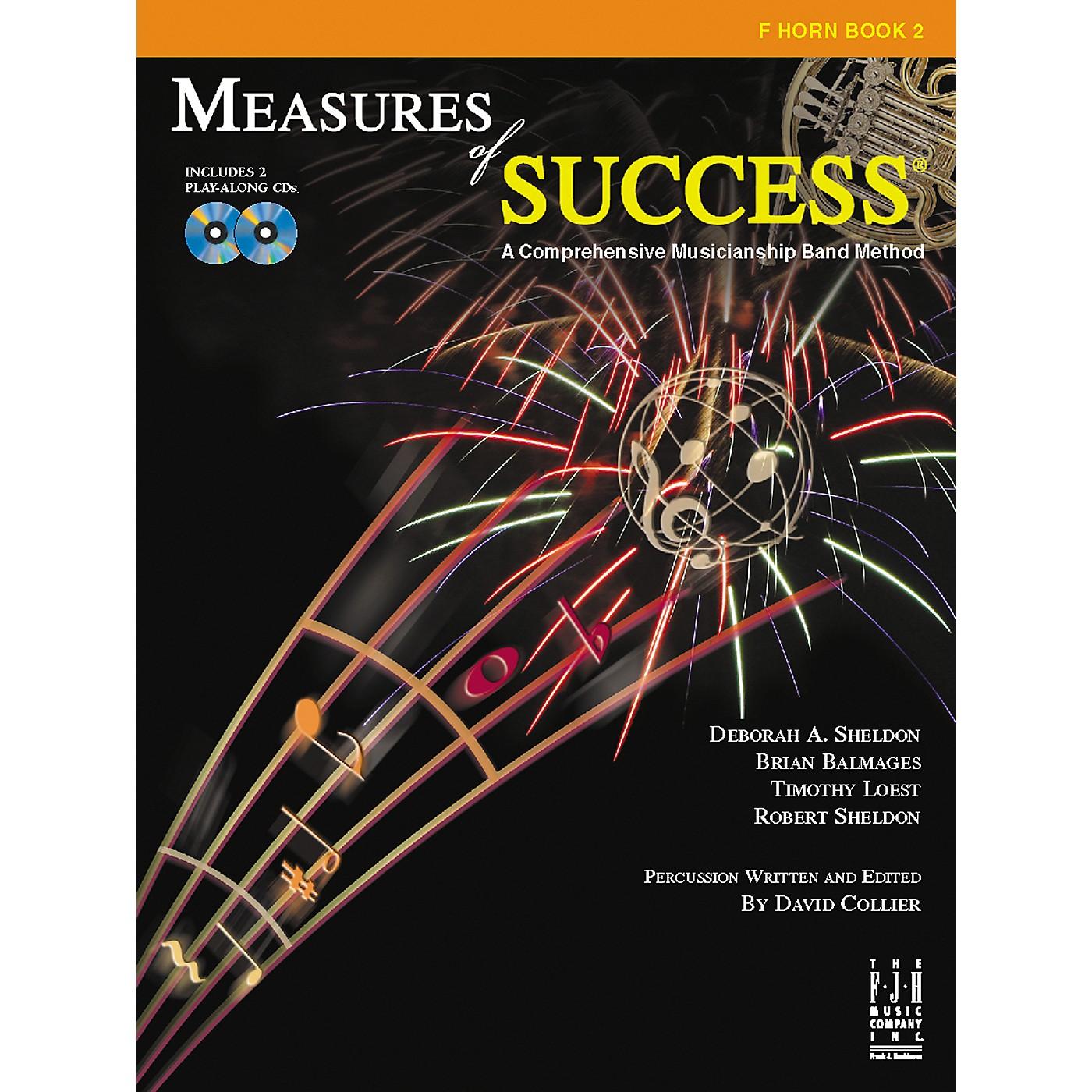 FJH Music Measures of Success F Horn Book 2 thumbnail