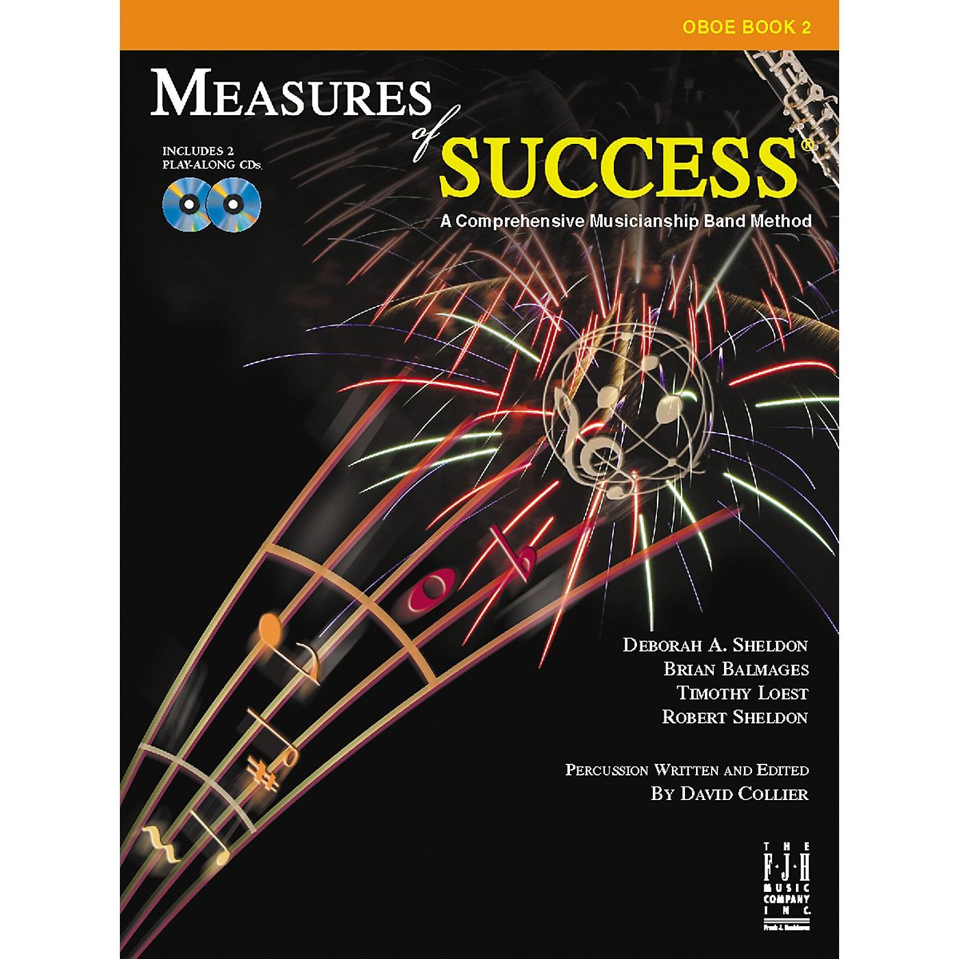 FJH Music Measures of Success Oboe Book 2 thumbnail