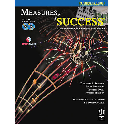FJH Music Measures of Success Percussion Book 1 thumbnail