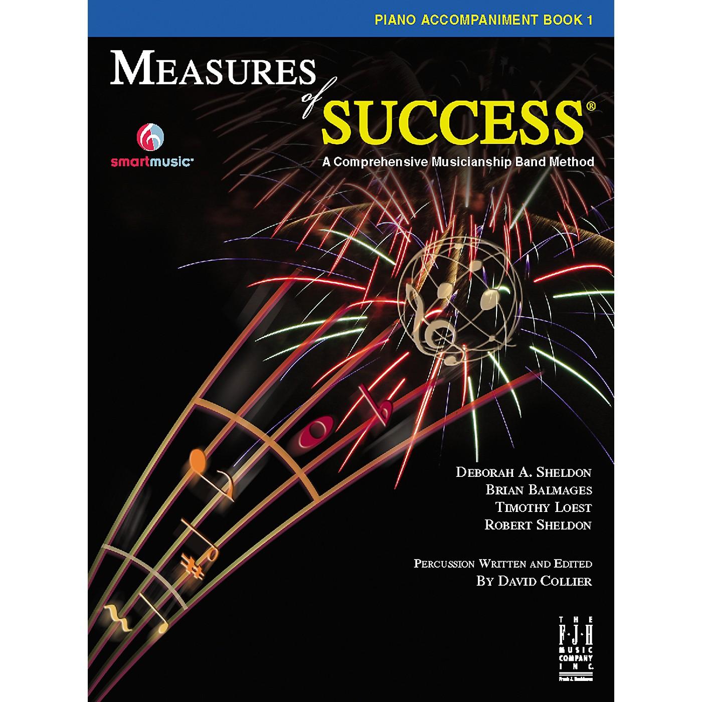 FJH Music Measures of Success® Piano Accompaniment Book 1 thumbnail