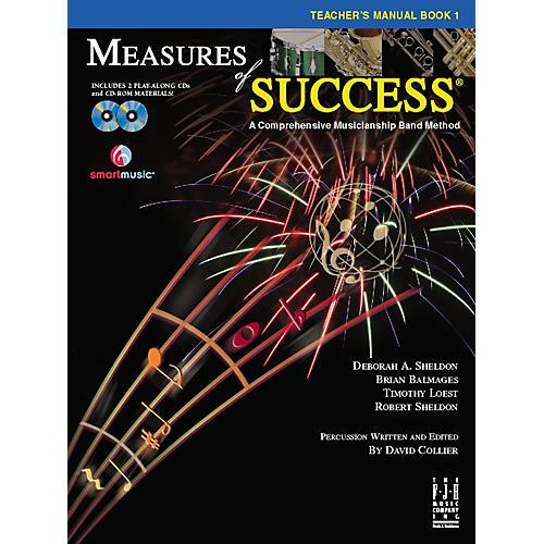 FJH Music Measures of Success Teacher's Manual Book 1 thumbnail