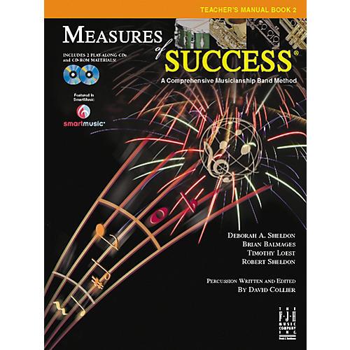 FJH Music Measures of Success Teacher's Manual Book 2 thumbnail