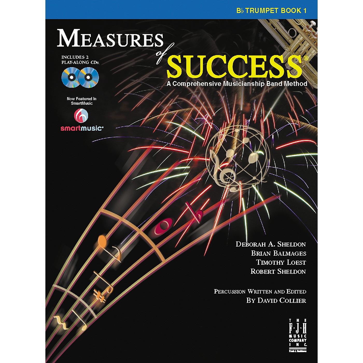 FJH Music Measures of Success Trumpet Book 1 thumbnail