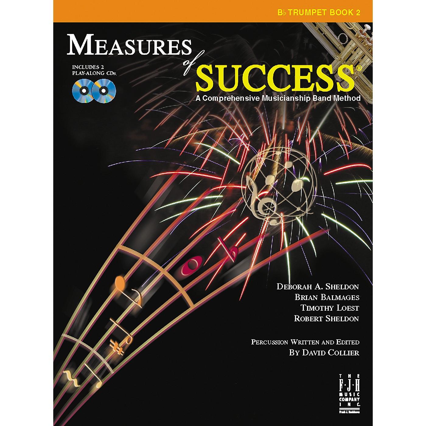 FJH Music Measures of Success Trumpet Book 2 thumbnail