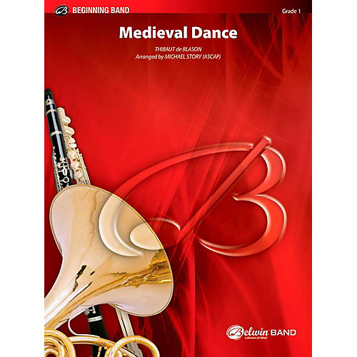BELWIN Medieval Dance Concert Band Grade 1 (Very Easy) thumbnail