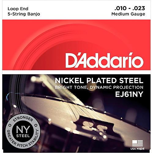 D'Addario Medium Banjo Strings (10-23) thumbnail