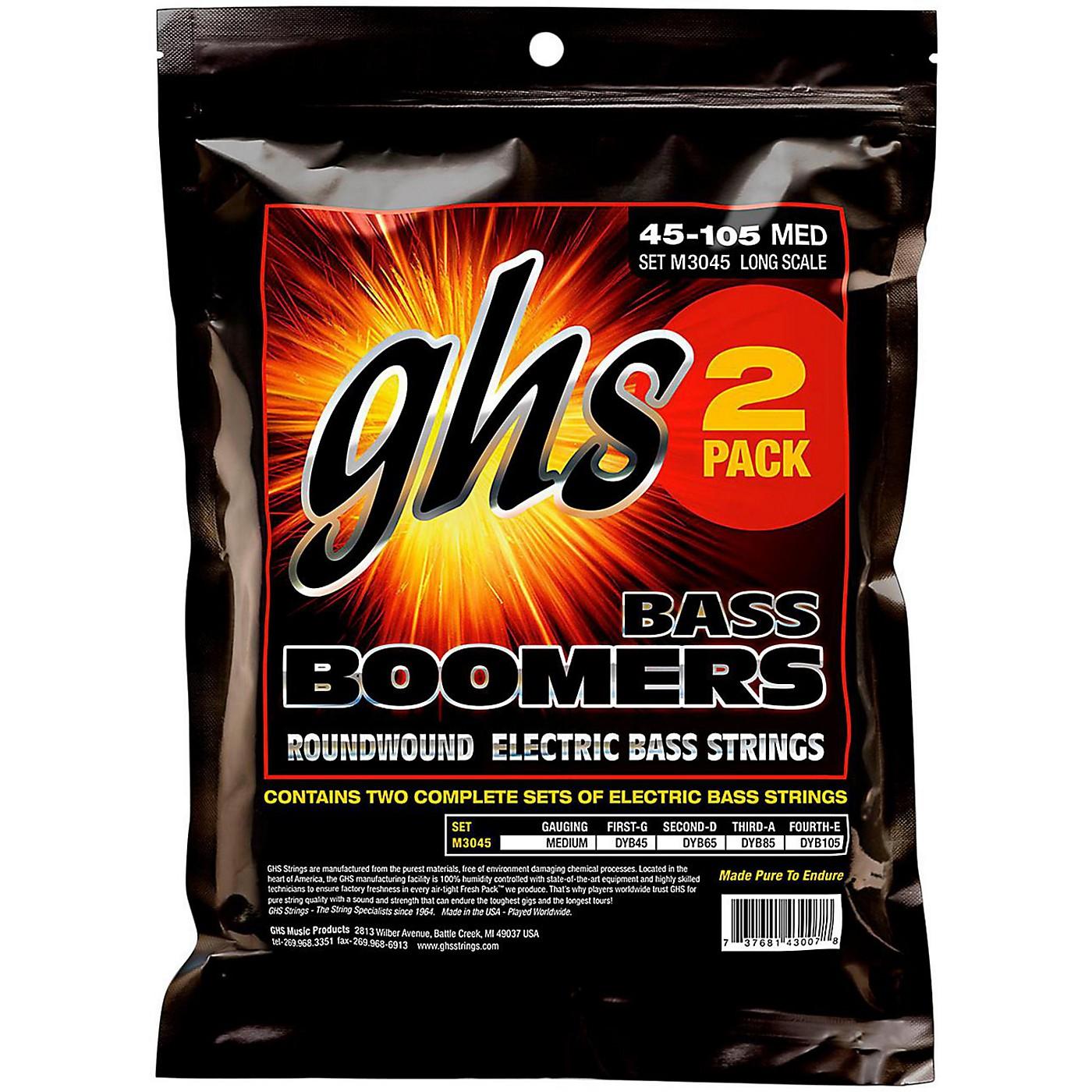 GHS Medium Bass Boomers Strings 2-Pack thumbnail