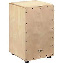 Stagg Medium Birch Cajon with Bag
