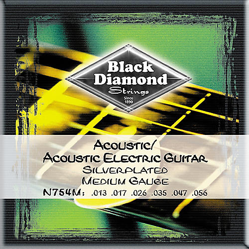 medium gauge silver plated acoustic electric guitar strings wwbw. Black Bedroom Furniture Sets. Home Design Ideas