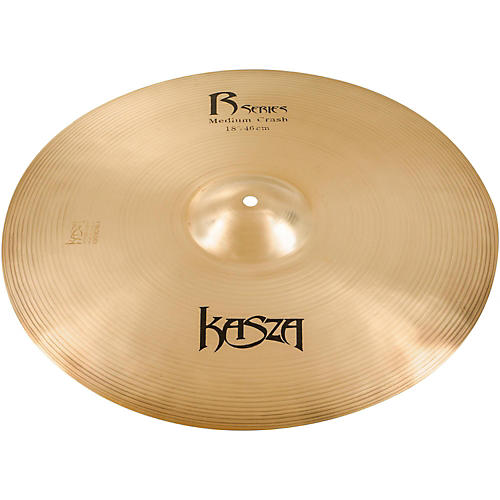 Kasza Cymbals Medium Rock Crash Cymbal thumbnail