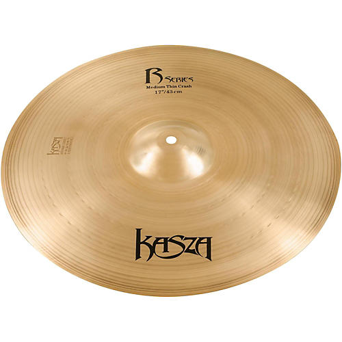 Kasza Cymbals Medium Thin Rock Crash Cymbal thumbnail