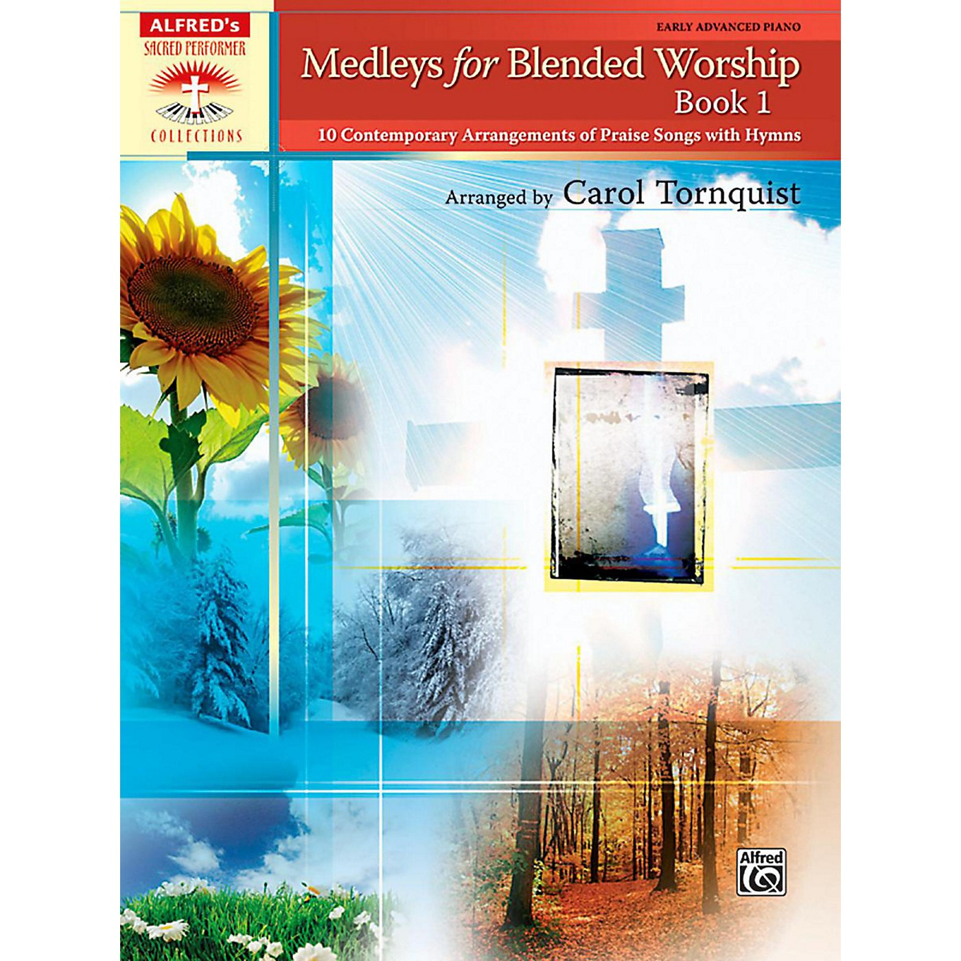 Alfred Medleys for Blended Worship Book 1 Early Advanced Piano thumbnail