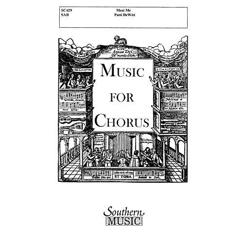 Hal Leonard Meet Me (Choral Music/Octavo Secular Sab) SAB Composed by Dewitt, Patti thumbnail
