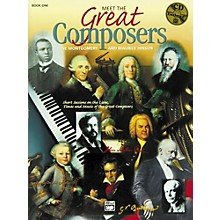 Alfred Meet the Great Composers Book 1 Book & CD